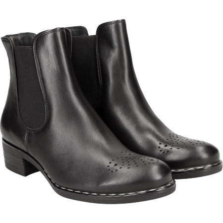 buy popular f6836 fce06 Extravagante Chelsea-Boots in Schwarz - 9191-001 im Paul ...