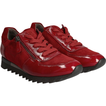 huge selection of a5bf9 a7bd7 Fantastischer Sneaker in Rot - 4685-073 im Paul Green Online ...