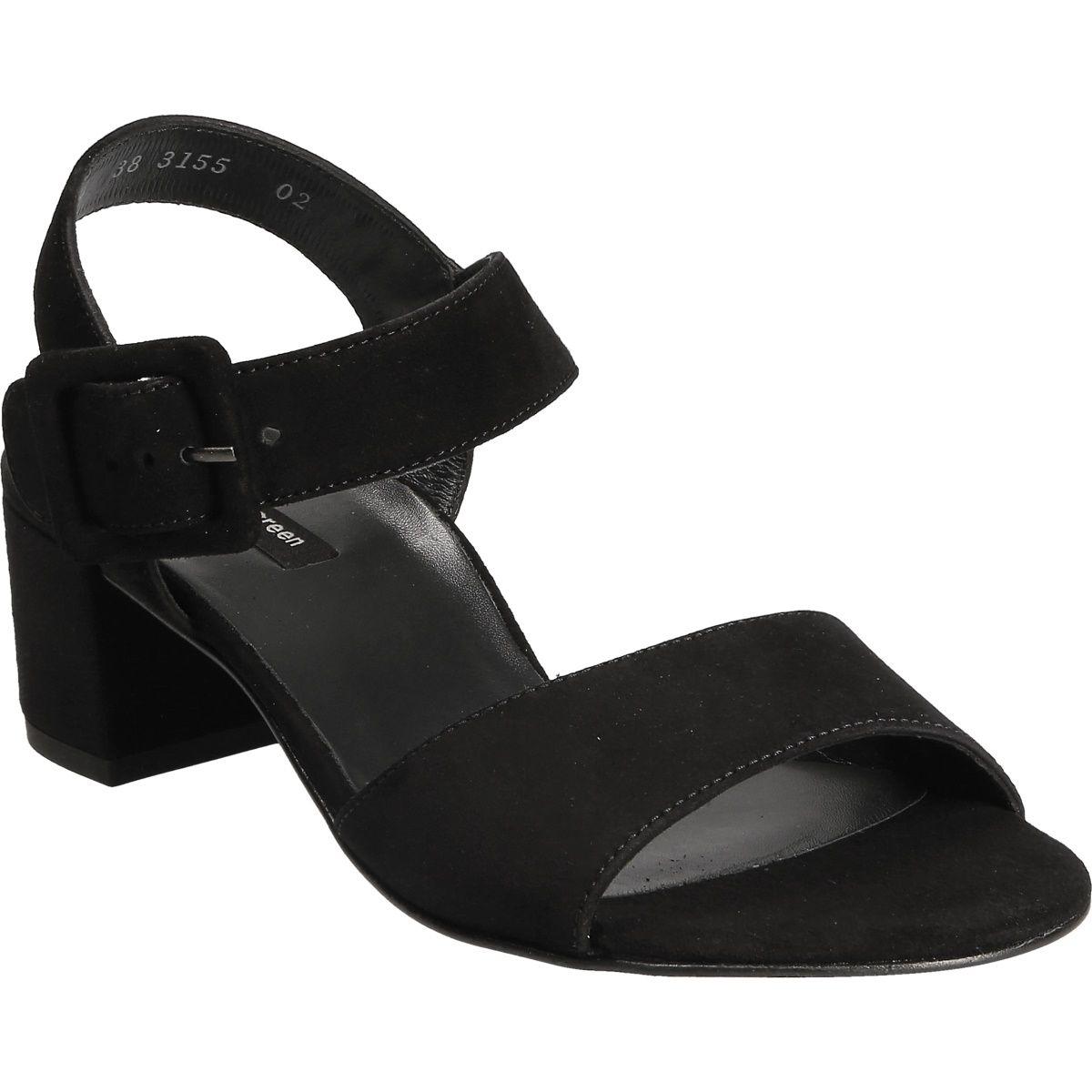 ce43fd8d806ac0 Sandals in black - 6092-042 Buy in Paul Green Online-Shop