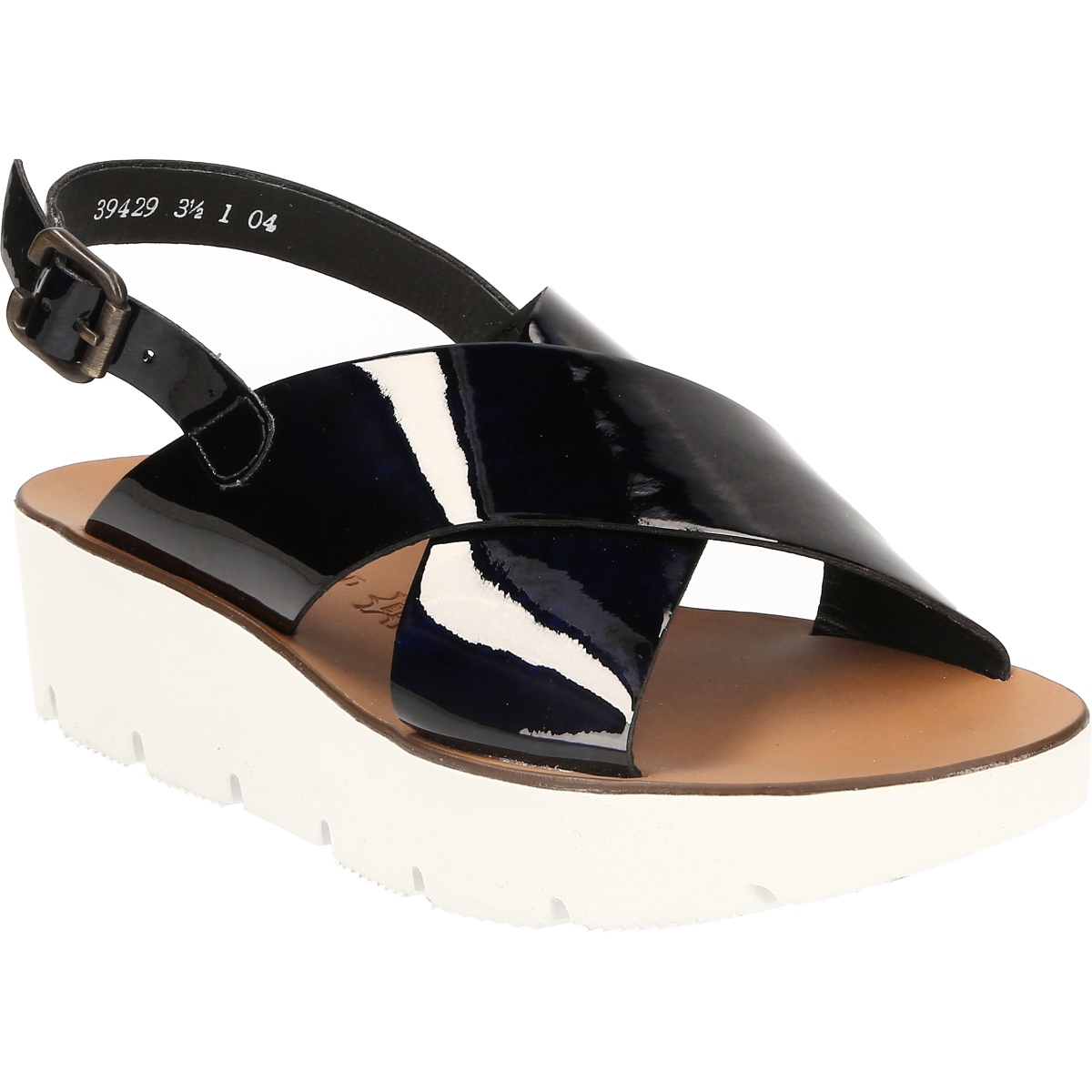Paul Green 6989 Sandalette für Damen in dunkel-blau - 6989-032 bwT4Ul1WvI