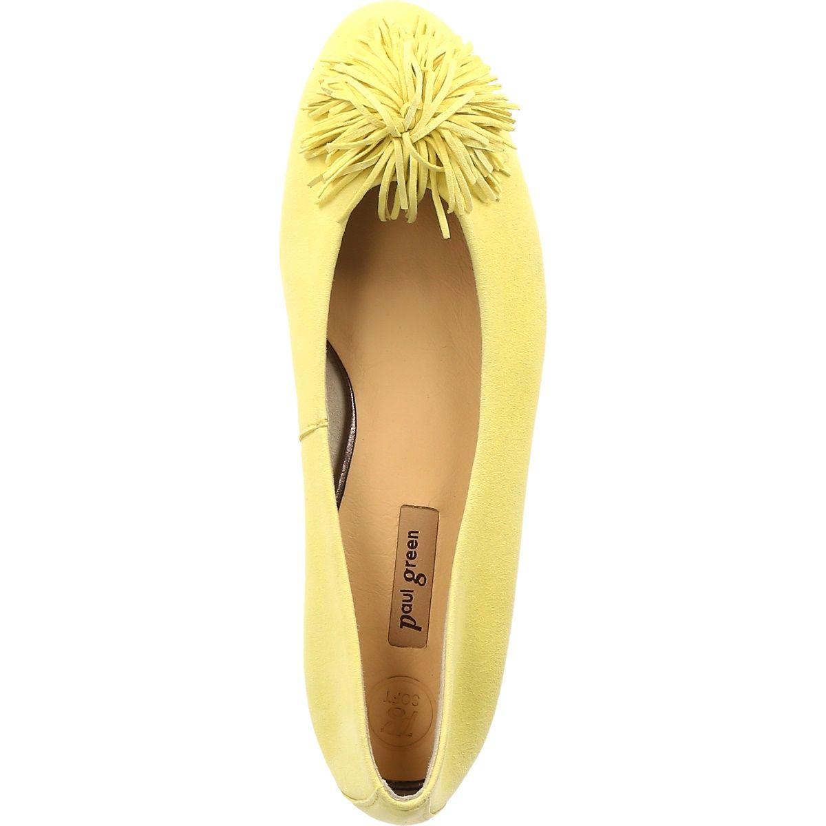 Ballerinas in yellow 2409 084 Buy in Paul Green Online Shop