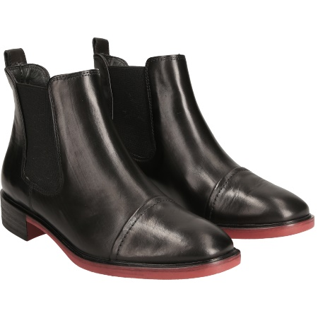 quality design 29350 8201c Angesagter Chelsea-Boots in Schwarz - 9507-003 im Paul Green ...