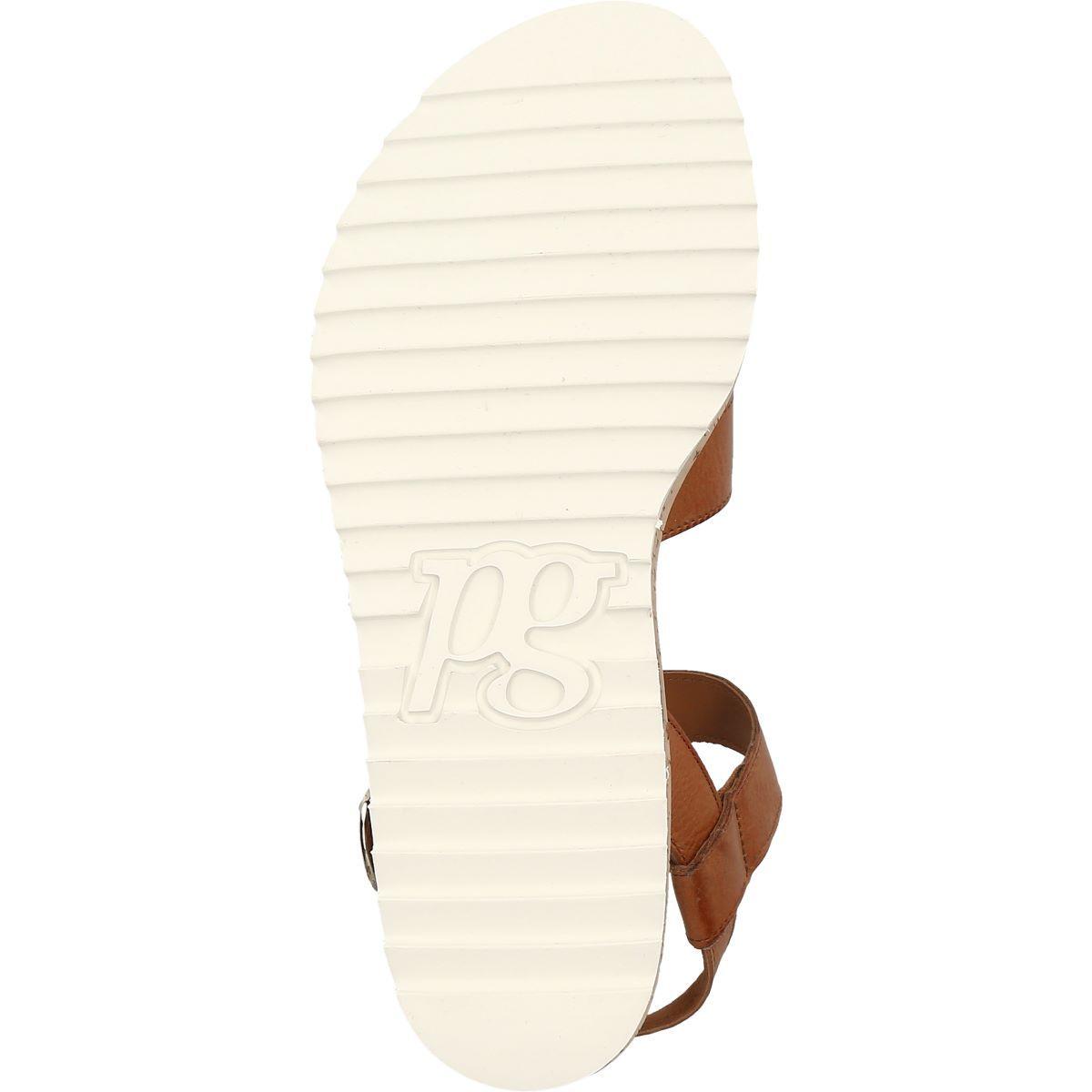Sandale in Braun 7496 004 im Paul Green Online Shop kaufen
