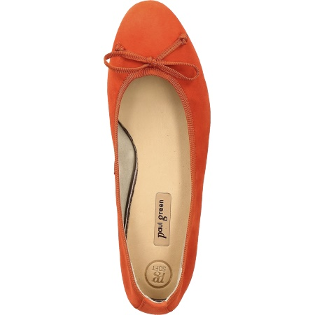 Paul Green 2598-216 - Orange - upperview