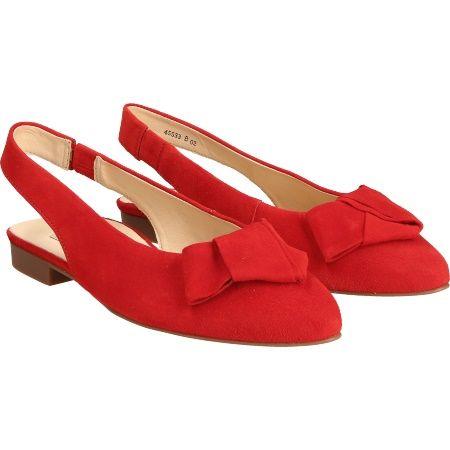 Paul Green 7453-014 - Rot - pair