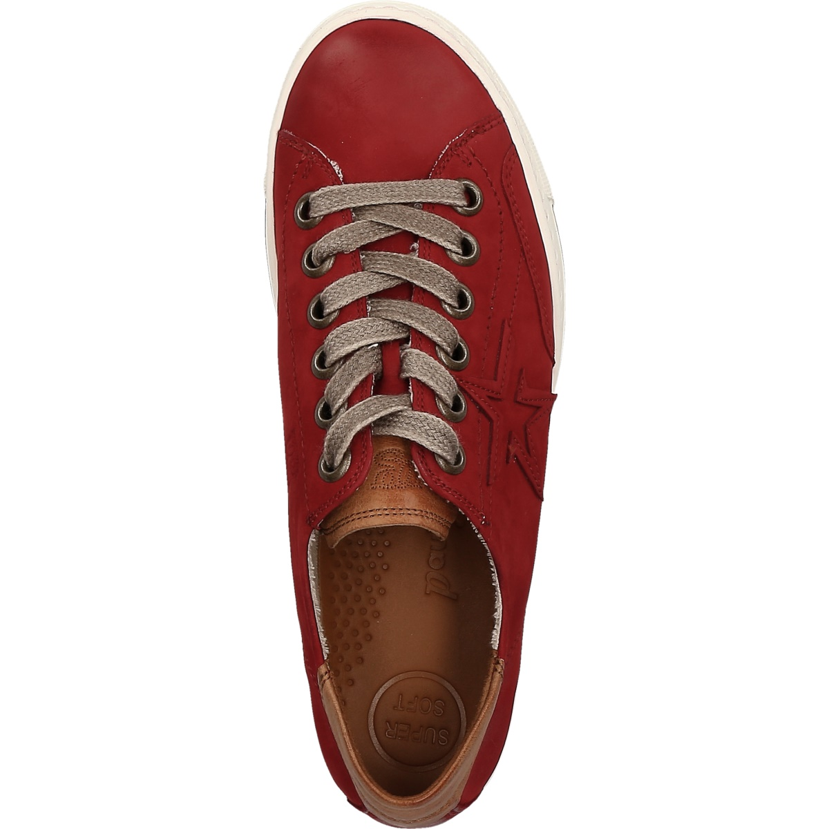 Lace ups in red 4810 085 Buy in Paul Green Online Shop