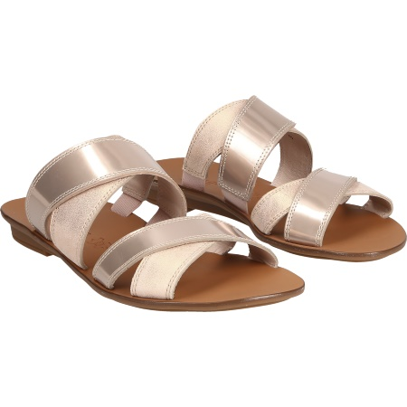 Paul Green 7262-014 - Beige/Metallic - pair