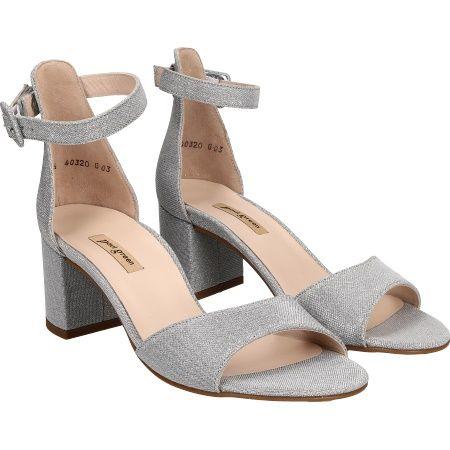 Paul Green 7469-066 - Sparkle Silver - pair