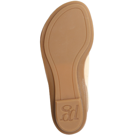 Paul Green 7300-008 - Beige - bottomview