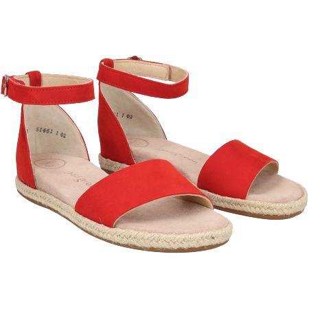 Paul Green 7363-036 - Rot - pair