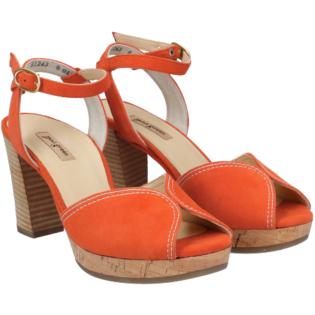 Paul Green 7548-046 - Orange - pair
