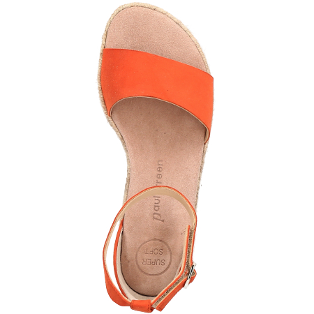 Paul Green 7363-016 - Orange - upperview