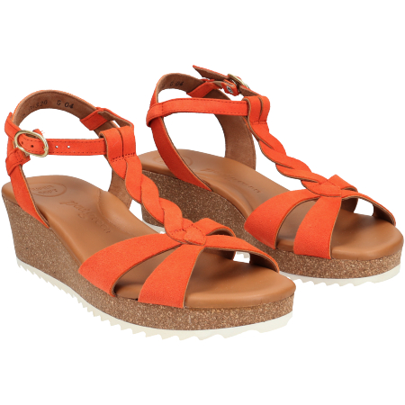 Paul Green 7597-036 - Orange - pair