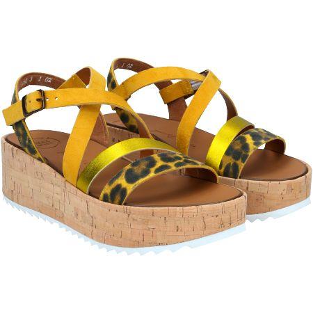 Paul Green 7498-056 - Gelb, kombiniert - pair