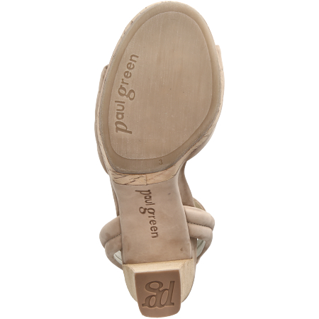 Paul Green 7677-018 - Beige - bottomview