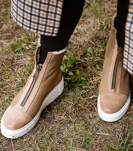 High End Empfehlung Paul Green Sneaker Braun Schuhe Online