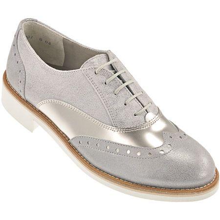 Schnürschuhe in Silver   Clay - 1002-017 im Paul Green Online-Shop ... 58ef1a2fdc