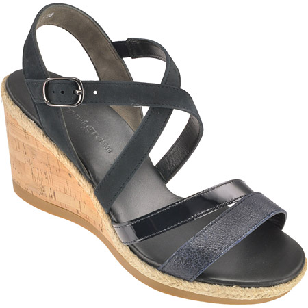 sandaletten in dunkelblau 6761 017 im paul green online shop kaufen. Black Bedroom Furniture Sets. Home Design Ideas
