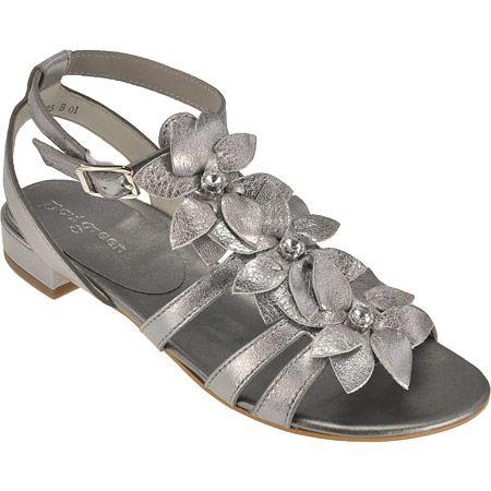 sandaletten in silber 7009 039 im paul green online shop kaufen. Black Bedroom Furniture Sets. Home Design Ideas