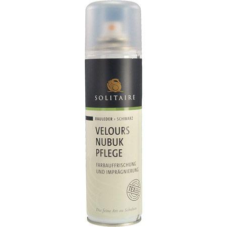 Solitaire Velours Nubuk Spray - Schwarz - mainview