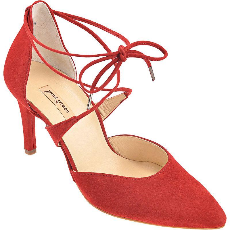 pumps in red 6760 007 buy in paul green online shop. Black Bedroom Furniture Sets. Home Design Ideas