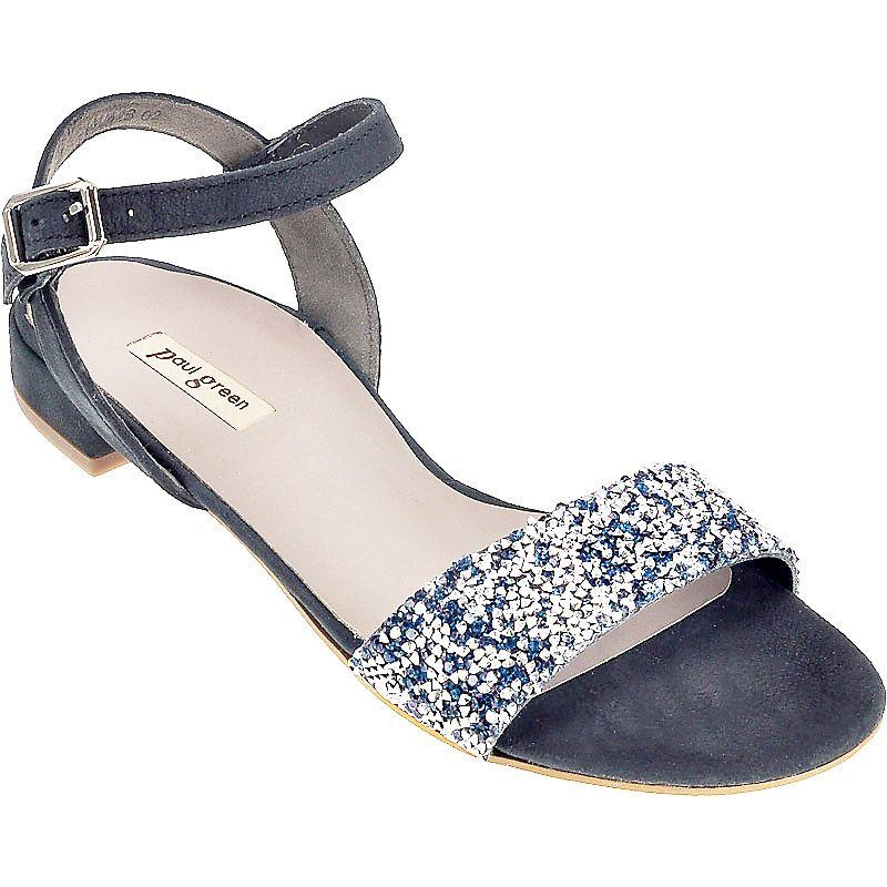 trendige sandale in blau 6076 019 im paul green online shop kaufen. Black Bedroom Furniture Sets. Home Design Ideas