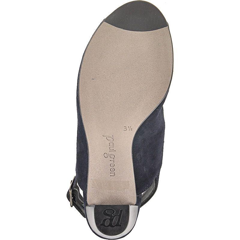 sandaletten in dunkelblau 6799 017 im paul green online shop kaufen. Black Bedroom Furniture Sets. Home Design Ideas