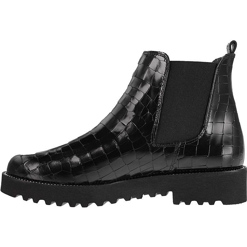 ausdrucksstarker chelsea boots in schwarz 9159 011 im. Black Bedroom Furniture Sets. Home Design Ideas